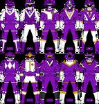Violet/Purple Ranger/Gokai Keys Part 2 by Iyuuga
