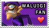 Waluigi Fan Love Stamp by Makronette