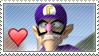 Waluigi stamp 1 by Makronette