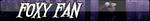 Foxy Fan Button by William-David-Afton
