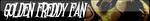 Golden Freddy Fan Button by William-David-Afton