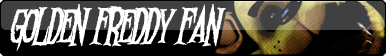 Golden Freddy Fan Button
