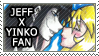 Jeff X Yinko Stamp by Mx-Robotnik