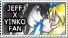 Jeff X Yinko Stamp by Mx-Robotnik