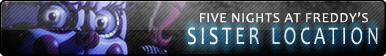 Five Nights at Freddy's Sister Location Fan Button