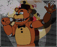 Animatronic August: Day 1 - Showtime! by William-David-Afton