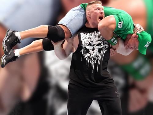 Brock Lesnar and John Cena by w-c-f-r on deviantART