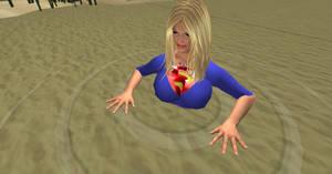 Supergirl in Quicksand 6