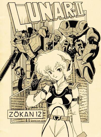 ROBOTECH Fanzine  part1 Vol.12 Extra the cover art by yui1107