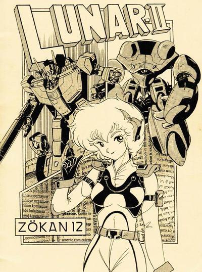 ROBOTECH Fanzine  part1 Vol.12 Extra the cover art