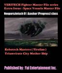 Azashar (Progress) class Robotech Masters ship