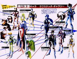 Tomonori Kogawa SDC Southerncross Characters by yui1107