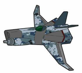 FA-112 [AF-2] escort fighter Chimera by yui1107