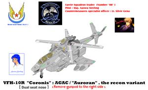 Ver 4_00  Faerie Squadron leader VFH-10R Coronis