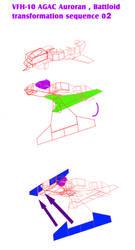 VERITECH AGAC Auroran Battloid transformation 2 by yui1107