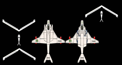 (Plane figure papercraft) VFH-10 Auroran AGAC by yui1107