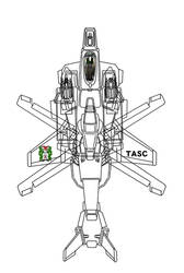 (Gyrodyne-Fixed wing mode ) VFH-10 AGAC by yui1107