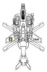 (Regular gyrodyne mode w/gunpod) VFH-10 AGAC by yui1107