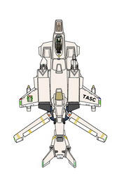 (Desertpink fixed wingmode) VFH-10 AGAC by yui1107
