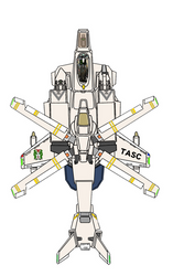 (Desertpink Gyrodyne-Fixed wing mode ) VFH-10 AGAC by yui1107