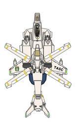 Desertpink  Fixedarm position Gyrodyne  Gunpodless by yui1107