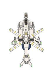 Desertpink regular Gyrodyne mode  AGAC Gunpodless by yui1107