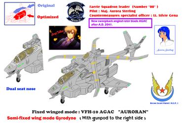 Sweepback roter blade VFH-10C/G Auroran (AGAC) by yui1107