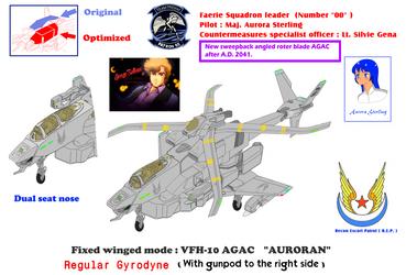 Sweepback blade regular Gyrodyne VFH-10C/G Auroran by yui1107