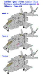 Auroran AGAC lowerarm transformation sequence 01 by yui1107