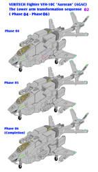 Auroran AGAC lowerarm transformation sequence 02 by yui1107