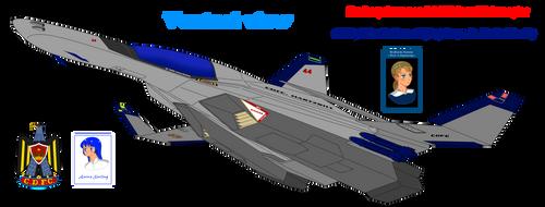 F-206 Falcon II Interceptor (Ventral view)