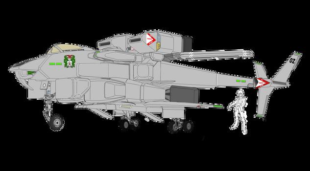 VFH-12B Super Auroran AGAC and Marie by yui1107