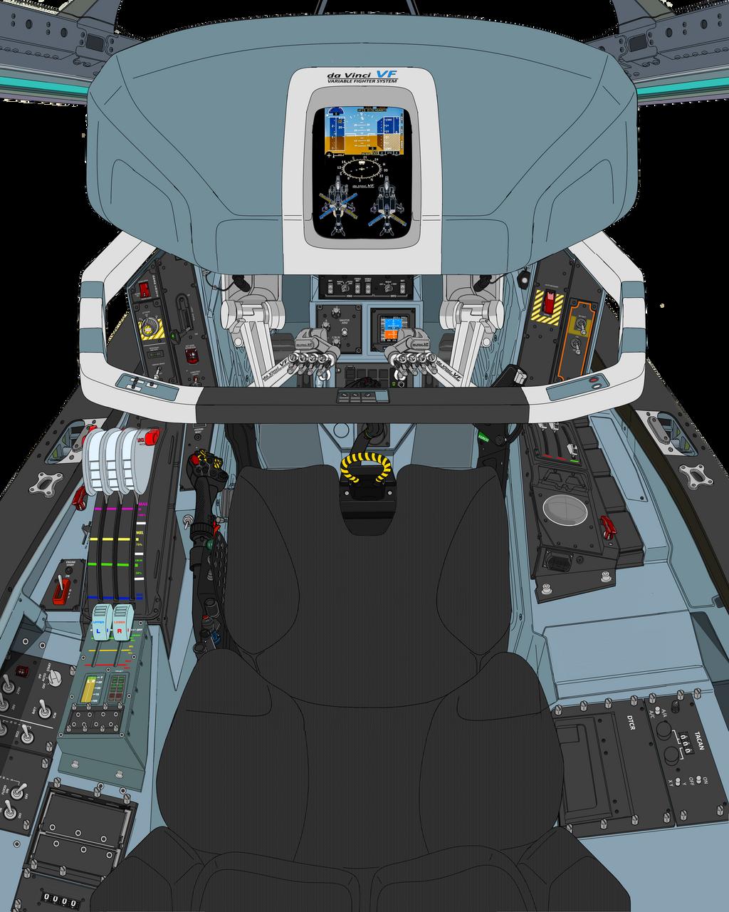 (Drogue parachute update) Block 50 cockpit-A