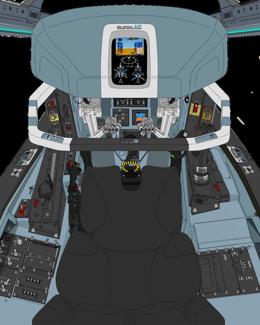 (Drogue parachute update) Block 50 cockpit-B