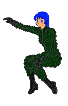 Aurora Sterling with PPK-7 anti-loading suit