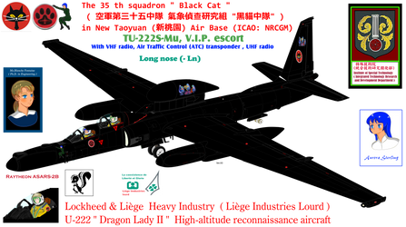 TU-222s (Mu) Longnose with VHF-ATC-UHF