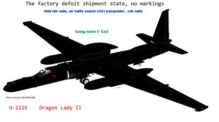 Factory shipment U-222s Longnose w VHF