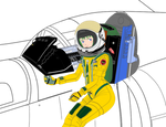 ( Canopy naked ) Musica in U-222 cockpit