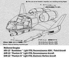 (Front view) ARV-15 Bumblebee