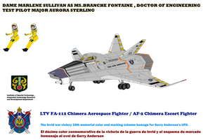 Restored AF-2 / FA-112 Chimera escort fighter