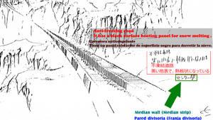 2-1A Translation Zoom-up  Anti-freezing road