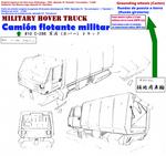 44of44 Military hovertruck Camion flotante militar