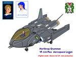 VF-8A PLUS AerospaceLogan BeaverTail and pilot -2