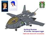 VF-8A PLUS AerospaceLogan BeaverTail and pilot -1