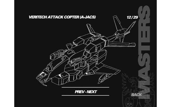 (Black back / White) True original VFH-10 Auroran