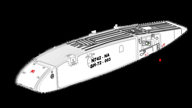 (Sponson) Sikorsky S-72 Longfuselage Marquise