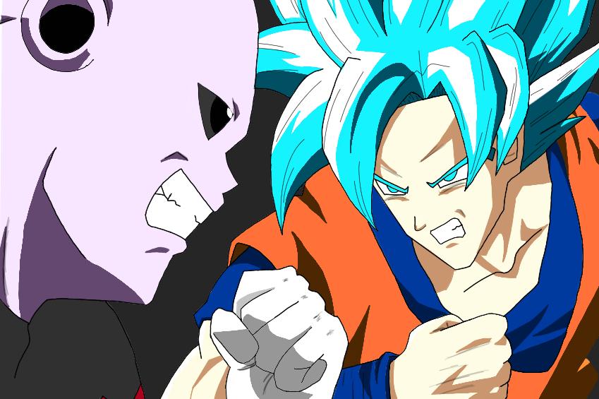 Goku vs Jiren by Argen-0042