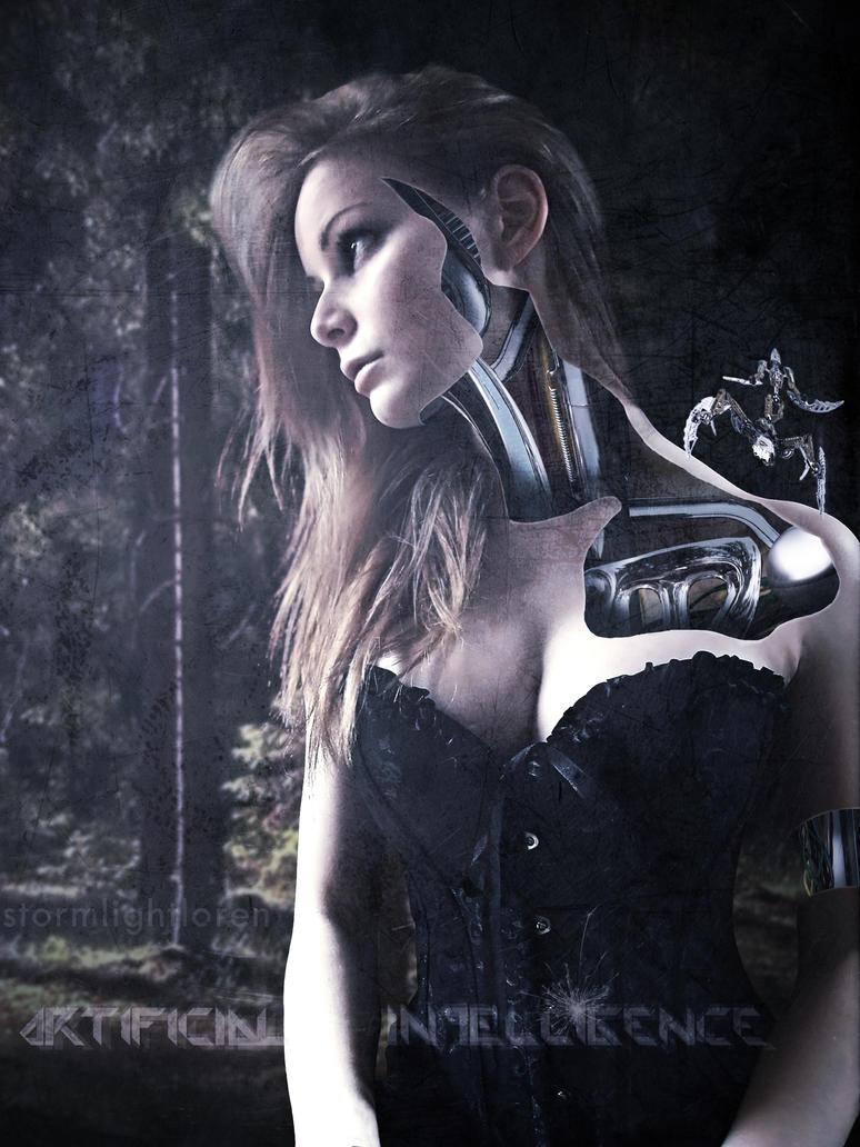 The Witcher x Cyberpunk 2077: Ciri cosplay by Irine Meier