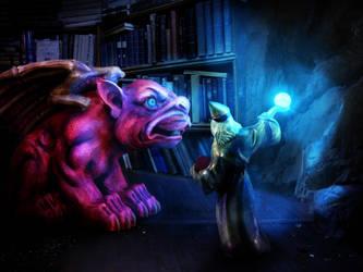 Wizards Beast by stormlightloren