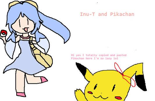 Inu-T the Pokemon Trainer!